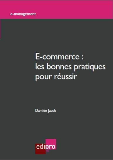 """Livre """"e-commerce"""" de Damien Jacob"""